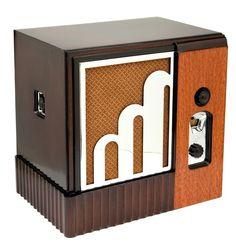 Century Six Majestic American Art Deco Radio (1933)