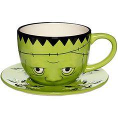 Sourpuss Teetasse mit Untertasse MONSTER TEA SET
