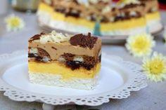 Prajitura Biskrem Eat Pray Love, Coco, Tiramisu, Biscuits, Caramel, Cheesecake, Cooking Recipes, Sweets, Homemade