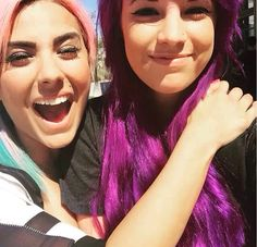 Ashley and Natalie  Ashleymarieegaming and thezombiunicorn