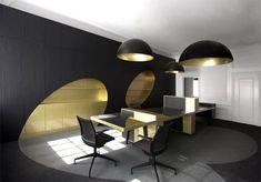 Glamorous office interior.