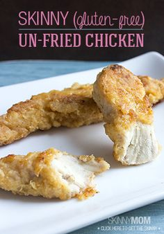 Being gluten free doesnt have to mean losing your fried chicken. Ok, maybe lose the fry but keep the flavor!
