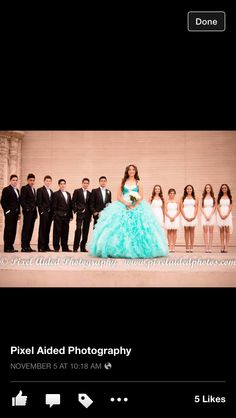 Quinceañera- San Diego Event and Portrait Photography Dama Dresses, Quince Dresses, 15 Dresses, Quinceanera Court, Pretty Quinceanera Dresses, Sweet 16 Pictures, Quince Pictures, Photo Poses, Quinceanera