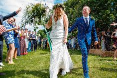 Leilah Cooling and Nick Parkinson: A DIY wedding with a festival vibe Festival Themed Wedding, Table Garland, Bell Tent, Wedding Confetti, Walking Down The Aisle, Guest List, Travel Themes, Devon, Event Design