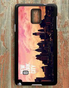 Sunset In New York City Samsung Galaxy Note 4 Case