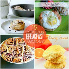 15 breakfast recipes