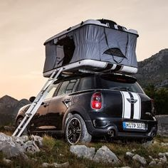 "Mini has revealed a trio of concepts showing how owners could convert their Mini Clubvan or Mini Countryman hatchbacks into mobile campers. The automaker says the models were inspired by a philosophy of, ""maximum touring pleasure with minimal footprint,"" and reflect young drivers' growing interest in camping and outdoor music festivals."