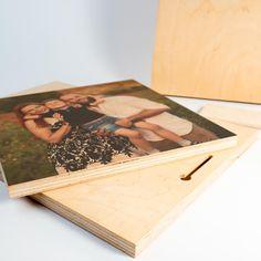 Fa tábla rétegelt lemezből a Te fotóddal → Fényképes ajánd ék