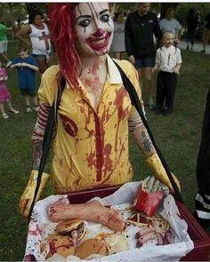 "34.4 k likerklikk, 248 kommentarer – Makeup•Sfx•Artistic•Cosplay (@crazy.makeups) på Instagram: ""I found my Halloween costume!  By ? (Please Dm) Follow us @crazy.makeups for more... Use…"""