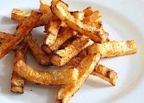 Celerové hranolky pečené v troubě - Celery fries baked in the oven