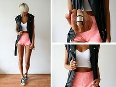 Hot Pants!!! I love this look!