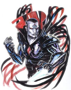 Sinister by Peter Nguyen, in Brian Keohan's X-Men 19 : Villains Comic Art Gallery Room Comic Book Artists, Comic Book Characters, Marvel Characters, Comic Character, Comic Kunst, Comic Art, Catwoman, X Men, Marvel Comics