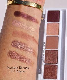 natasha denona eyeshadow swatches
