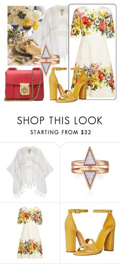 """""""Spring Dinner"""" by missrose94 ❤ liked on Polyvore featuring Burberry, Dolce&Gabbana, Schutz and Chloé"""
