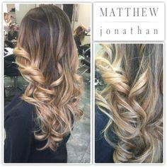 Flamboyage Balayage Ombre Sombre Matthew Jonathan