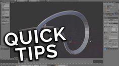 Quick Tip : Twisting Curves! (Blender 2.77)