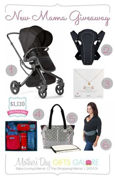 New Mama Giveaway Mothers Day Gifts Galore Giveaway:: over $1000 in prizes including Mamas & Papas Mylo Stroller