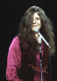 Janis Joplin on the Ed Sullivan Show, 1969.