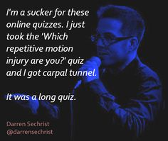 #DarrenSechrist, #comedian, #comedy, #funny, #StandUp, #Jokes, #fun, #comic, #lol, #joke, #humor