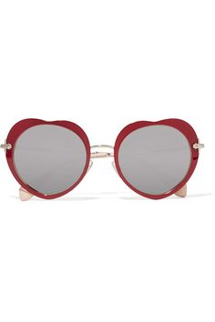 ACETATE AND GOLD-TONE MIRRORED SUNGLASSES #style #fashion #trend #onlineshop #shoptagr