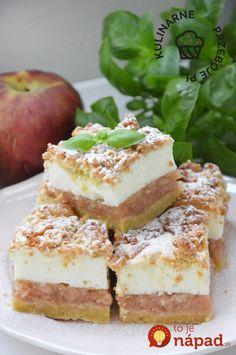 Vždy na jeseň robí moja teta úžasný koláč: Neporovnateľný jablkáč s pudingovou penou – každý pýta recept! Apple Pie, Tiramisu, Cheesecake, Food And Drink, Treats, Ethnic Recipes, Sweet, Basket, Sweet Like Candy