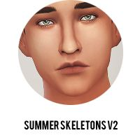 Super cute skin blend for the Sims 4, download comes with nose masks