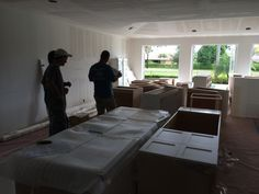 New Kitchen Delivered - now its time to assemble