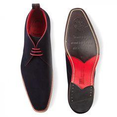 10bb15f70c29 Jeffery West Masuka Navy Suede Men Dress, Dress Shoes, Oxford Shoes, Formal  Shoes