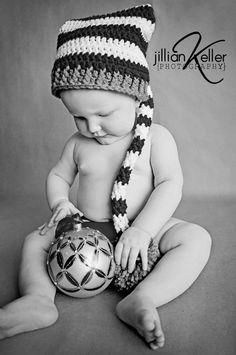 baby Christmas photography © Jillian Keller Photography