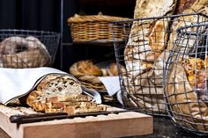Fresh bread from our local bakery at Super Breakfast Fresh Bread, Wine Recipes, Bakery, Breakfast, Food, Morning Coffee, Essen, Meals, Yemek