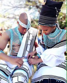 African Fashion Traditional, Traditional Outfits, African Print Fashion, African Fashion Dresses, Xhosa Attire, Zulu Warrior, Wedding Outfits, Traditional Wedding, Black Beauty