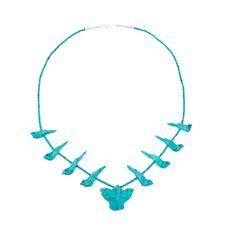 Collier fétiches Femme   Harpo Paris #nativeamerican #collierturquoise #navajo #pueblo #zuni