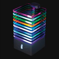 The EQ Bluetooth Speaker with amazing light show. Choose different music-reactive light setting. Experience Gifts, Played Yourself, Electronic Devices, Cool Gadgets, Home Gifts, Light Up, Things That Bounce, Cube, Led