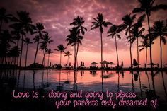 LOVE IS ...VERSE  http://www.zazzle.co.uk/kompas  #love #alanjporterart #kompas #paradise #palmtree #beautiful #quote #spirit #verse #parents #soul #drieams