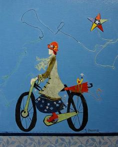 My Lucky Star Genevieve Pfeiffer Lucky Star, Whimsical, Arts And Crafts, Watercolor, Drawings, Illustration, Artist, Poster, Painting