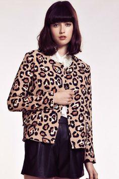Dahlia Margaret Leopard Jacket