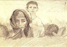 illustration by the legendary Egyptian artist Shady Abdel Salam
