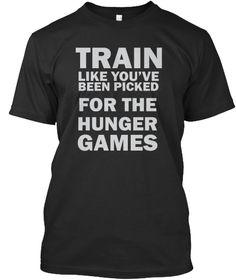 Train Like You've Been ! T Shirt Black T-Shirt Front