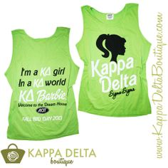 Kappa Delta Boutique does custom group orders!!