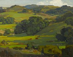 Governadora Canyon by William Wendt