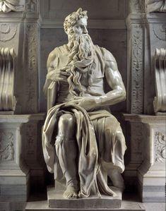Michelangelo, Mosè, c.1513-15 / 1542, Basilica di San Pietro in Vincoli, Roma