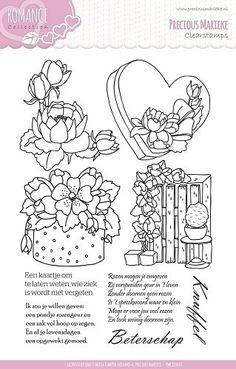 PMCS10003 Clearstamp - Precious Marieke - Romance