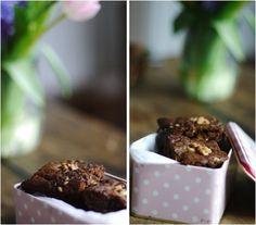 Lykkelig - mein Foodblog: Sonntagssüß mit Schokolade: Umwerfende Walnuss-Brownies
