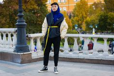 The Best Street Style From Russia Fashion Week Spring '18