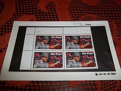 3148 Block of Four 32 cent Bear Bryant Stamps