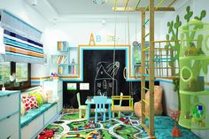 Студия дизайна Interior Design IDEAS の モダンな 子供部屋