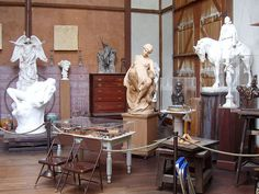 Chesterwood; Daniel Chester French sculpture studio in Stockbridge MA