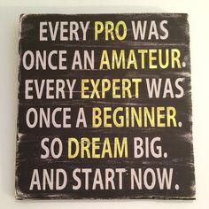 Dream Big, Motivational