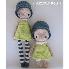 Amélie & Mini Amélie - Crochet Patterns by {Amour Fou}