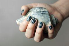 tartan nails - Pesquisa Google